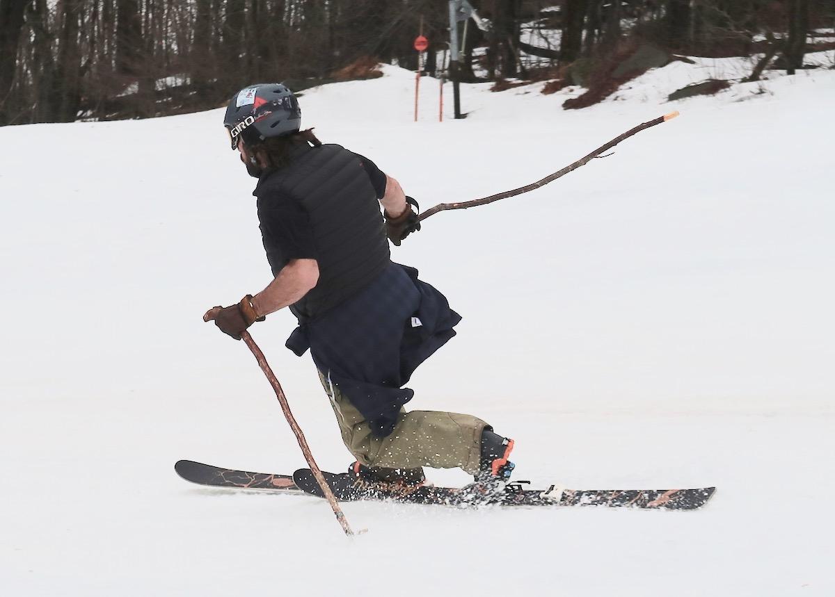 tele skier