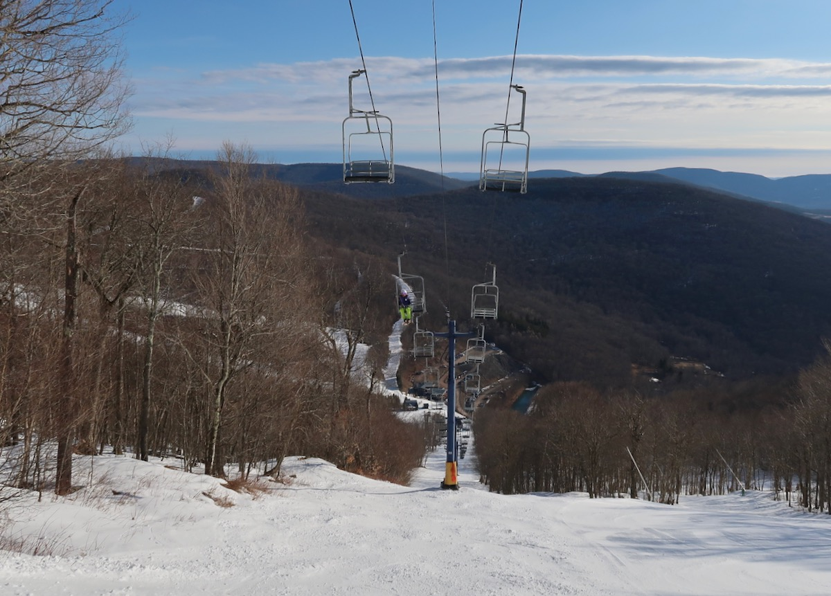 view from Plunge