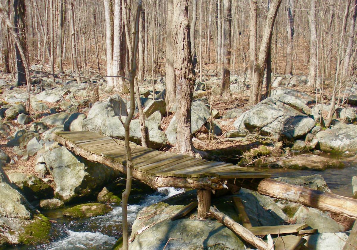 Bridge on Wildcat Ridge NJ