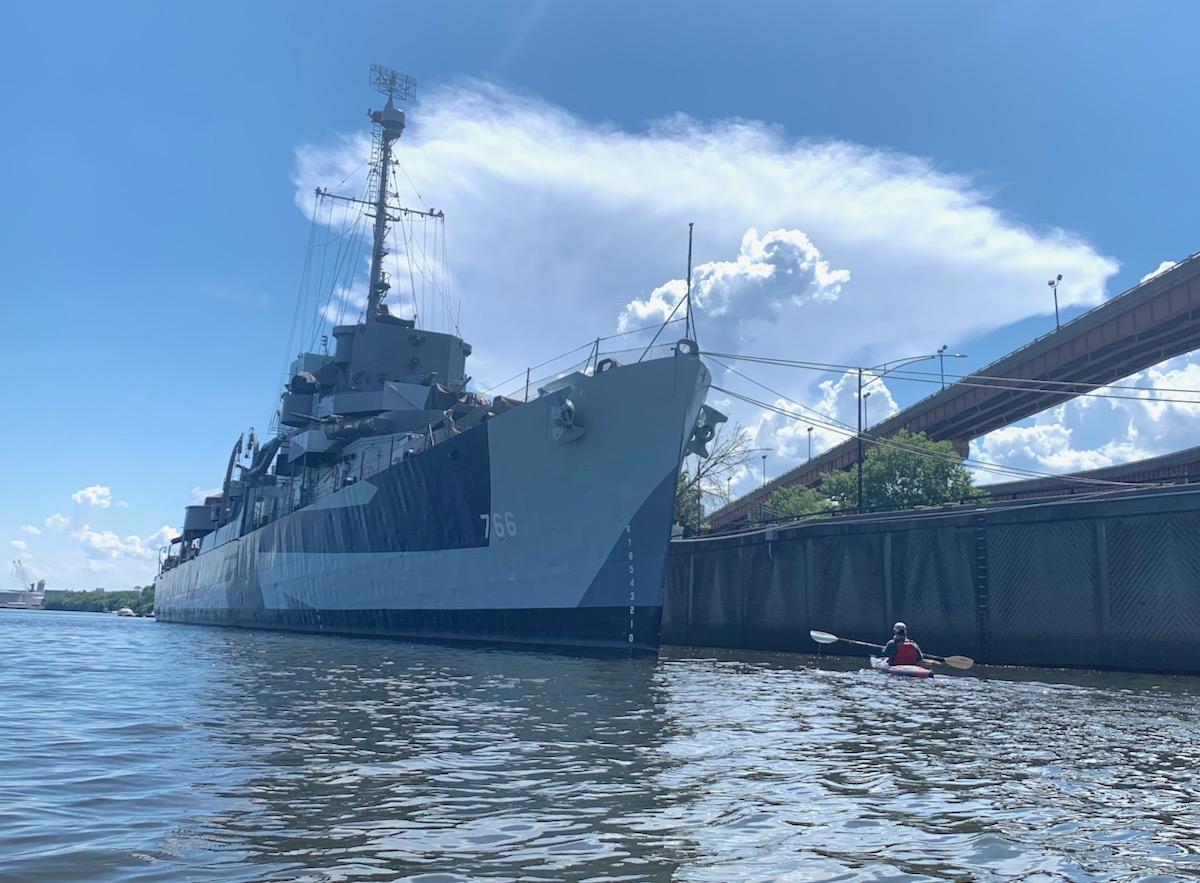 USS Slater in Albany NY