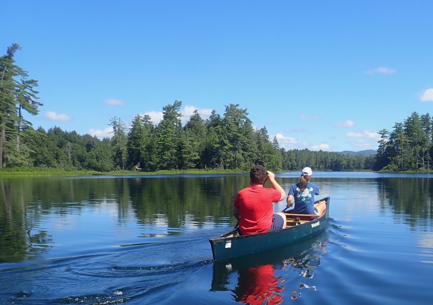 Follensby Clear Pond canoeing