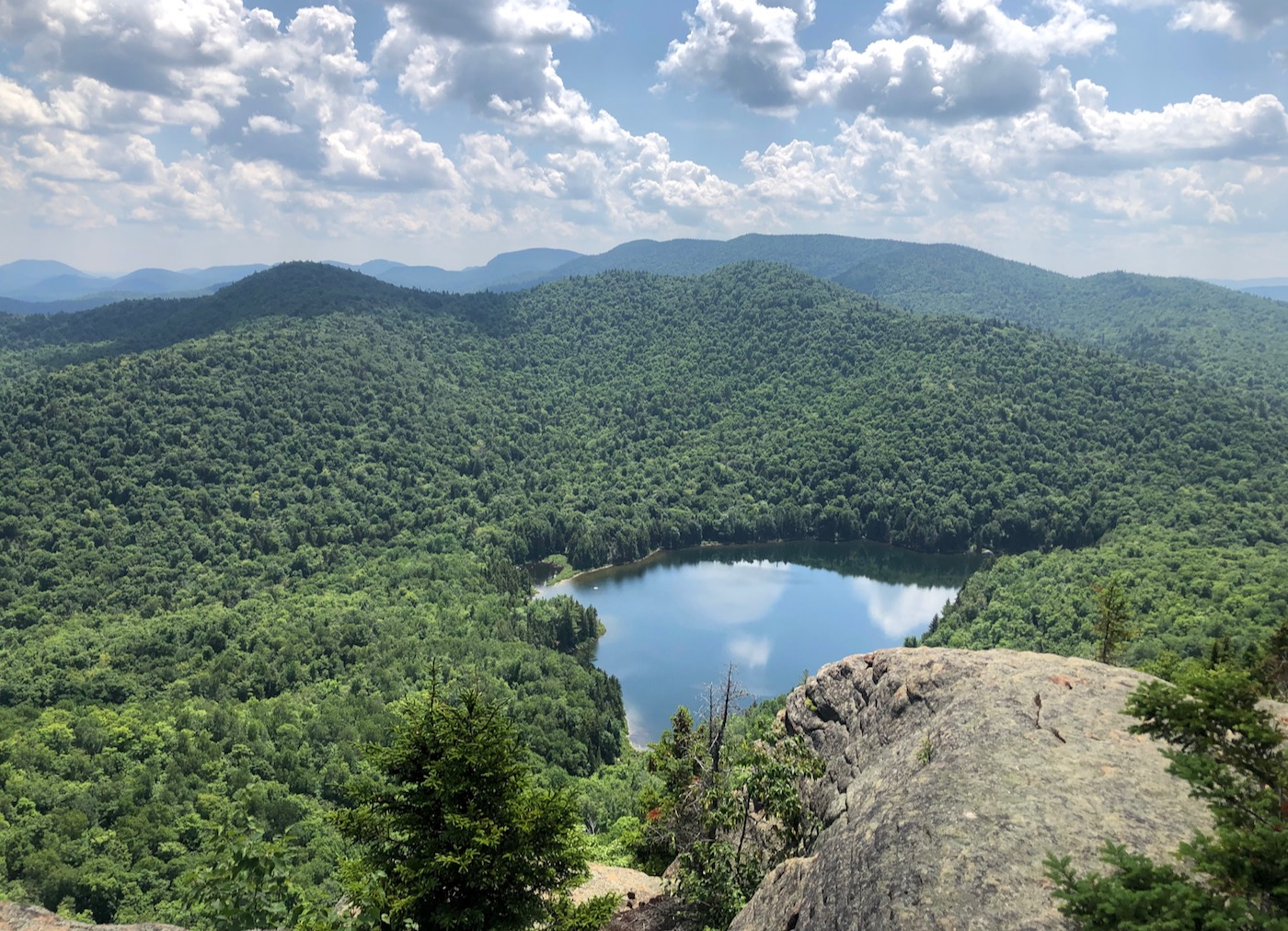 View from Peaked Mountain