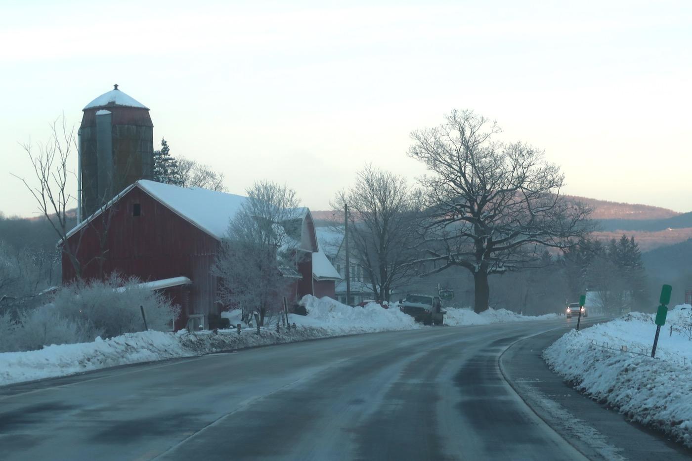 the road to Plattekill