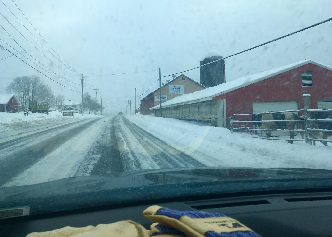road to Labrador