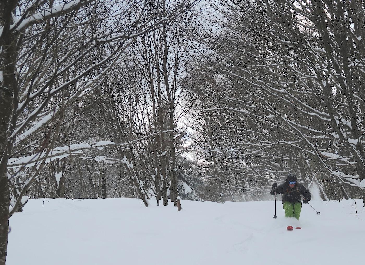 skiing Petersburg Pass