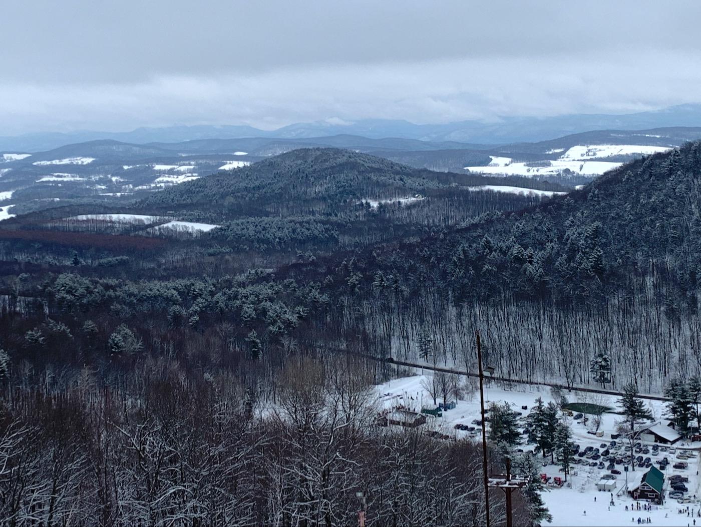 Willard Mountain view