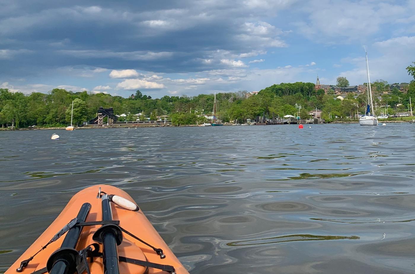 Beacon NY kayaking