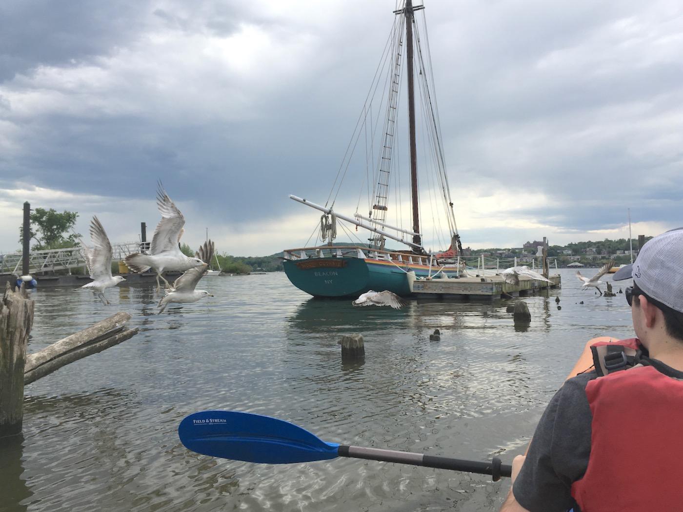 Beacon Riverfront Park boat launch