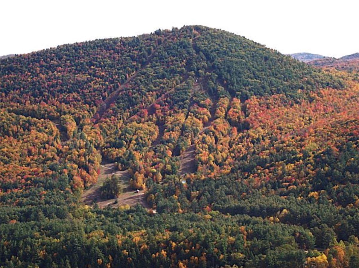Hickory Ski Center aerial
