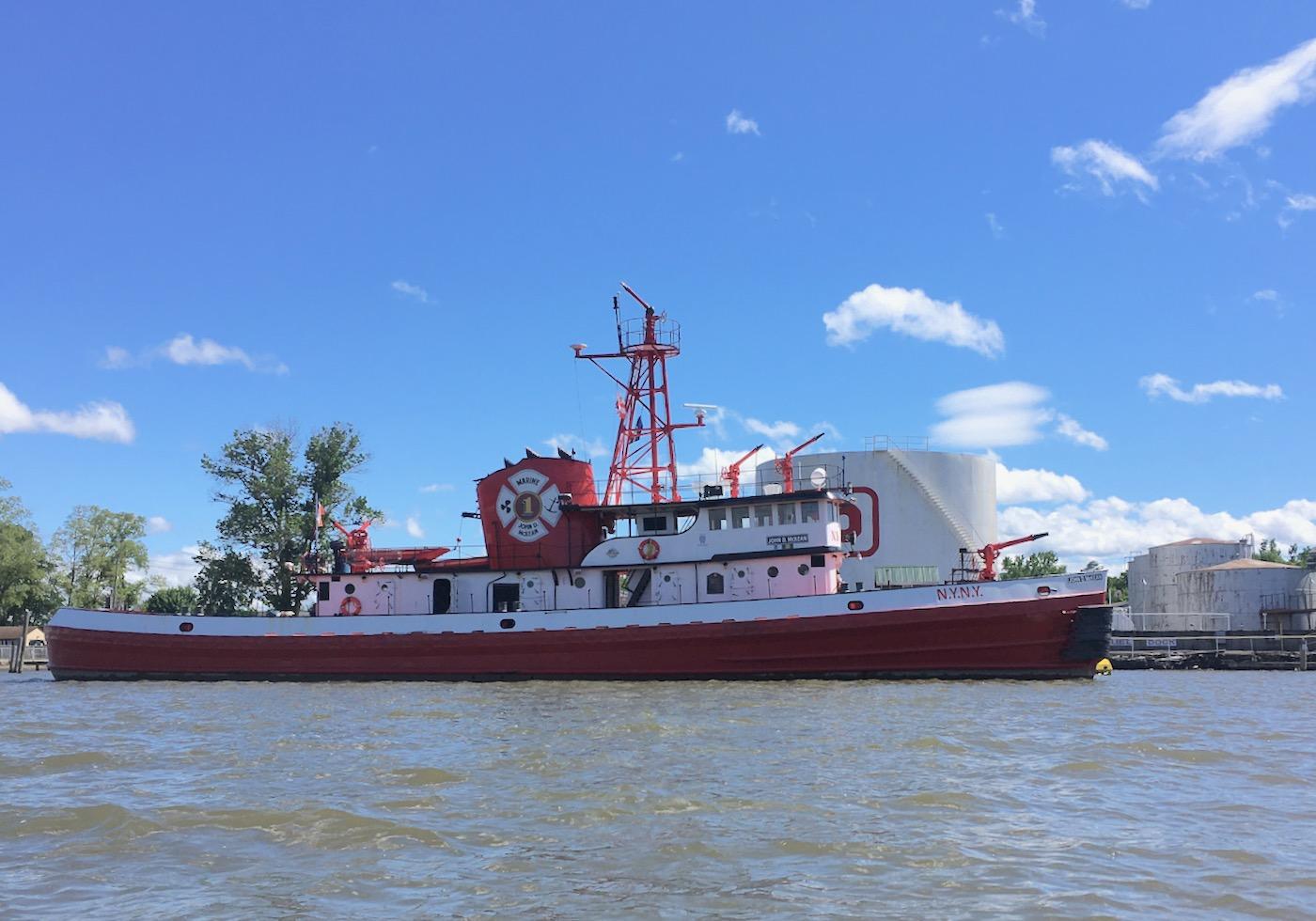 John D McKean fireboat