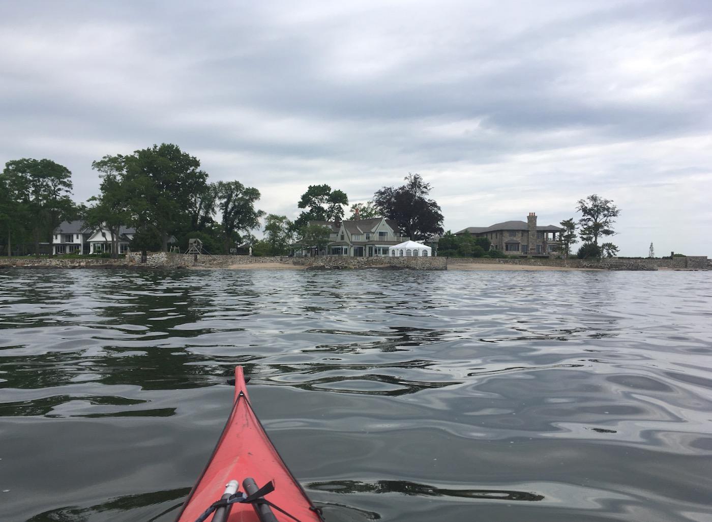 kayaking in Rye NY