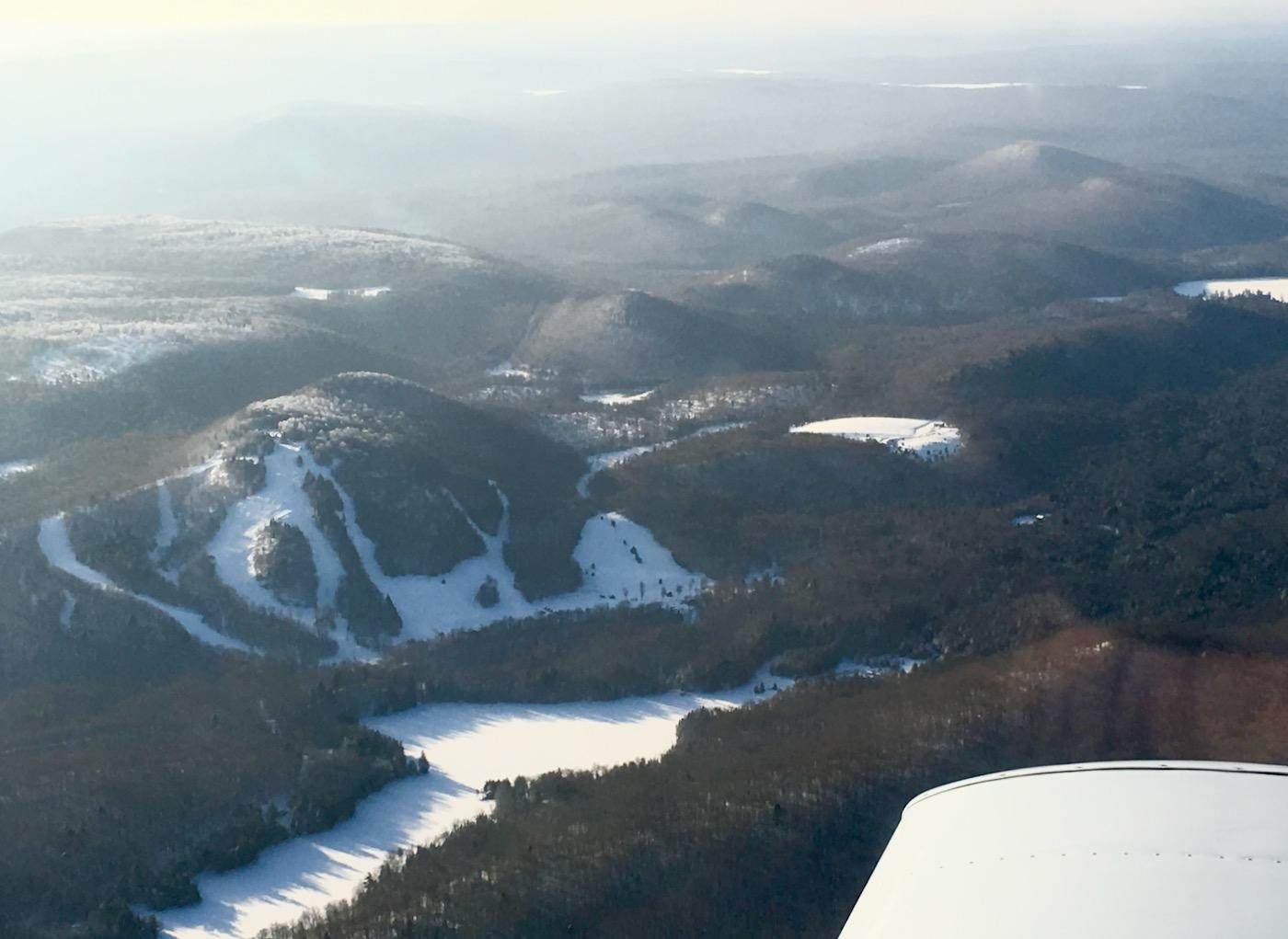 McCauley Mountain aerial