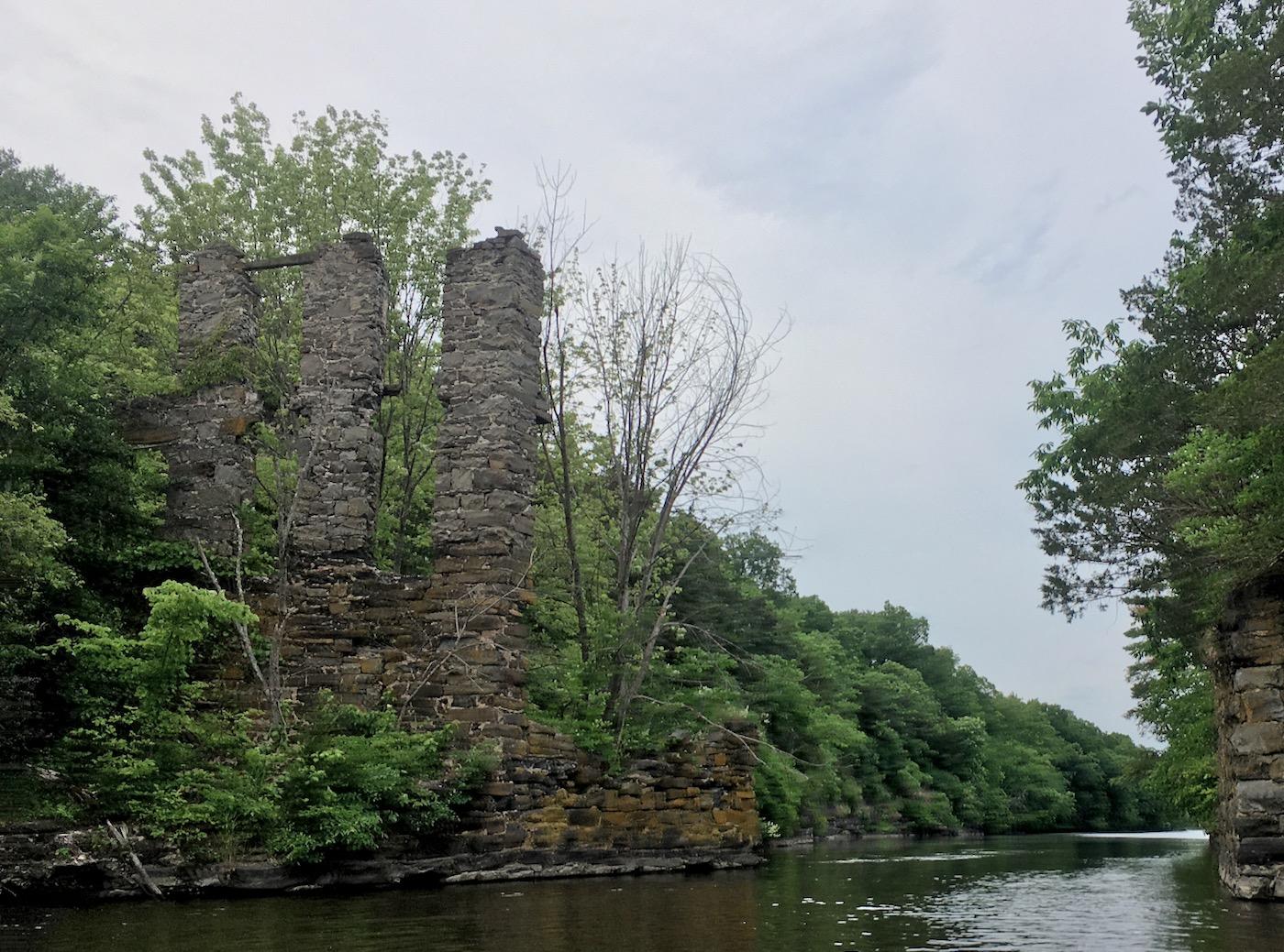 Wallkill River ruins