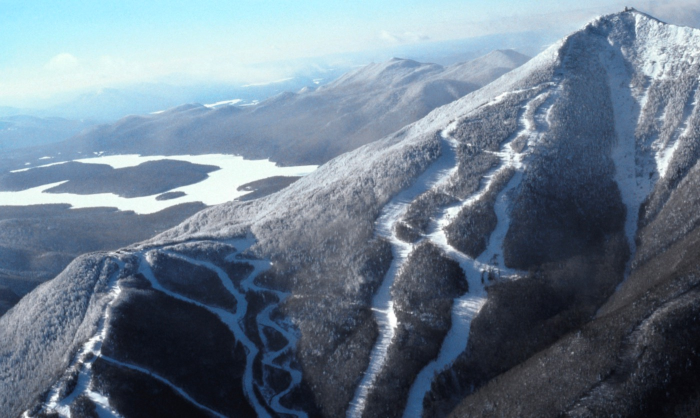 Whiteface aerial
