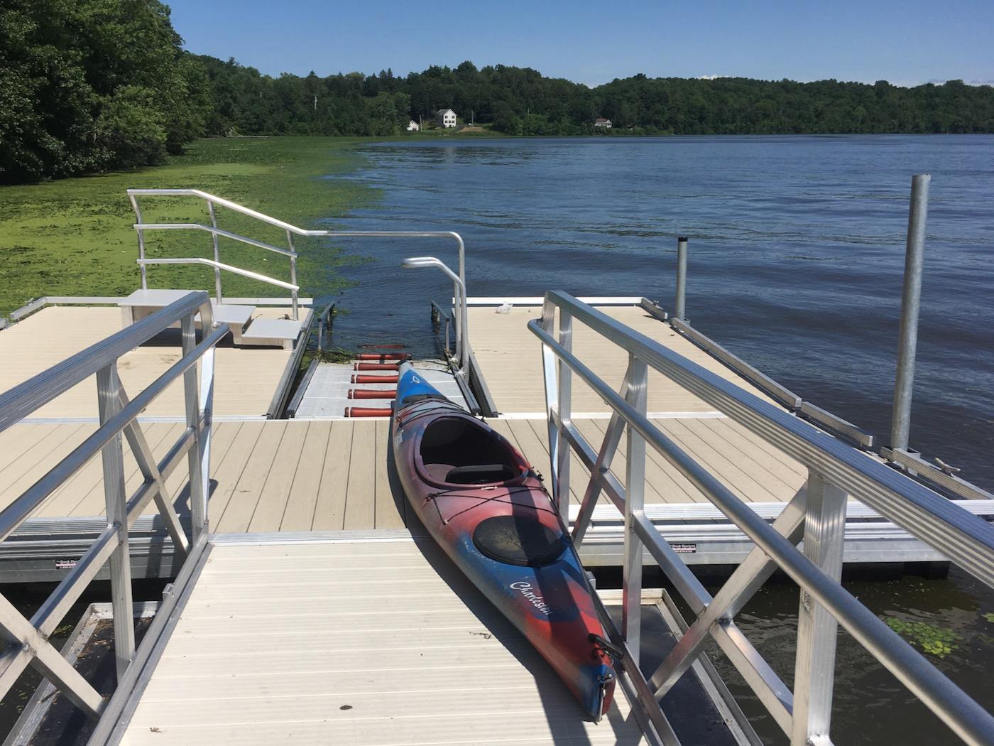Mohawk River kayak launch