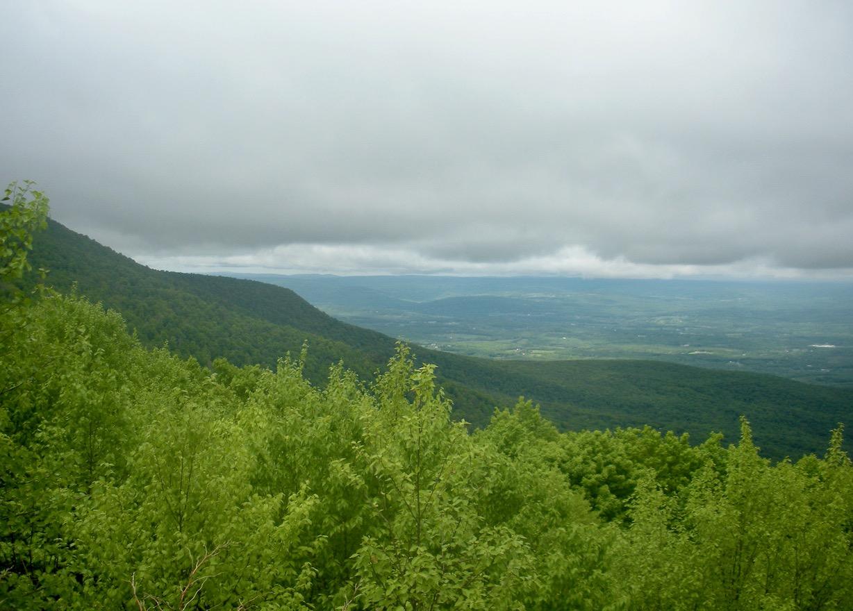 Acra Point view