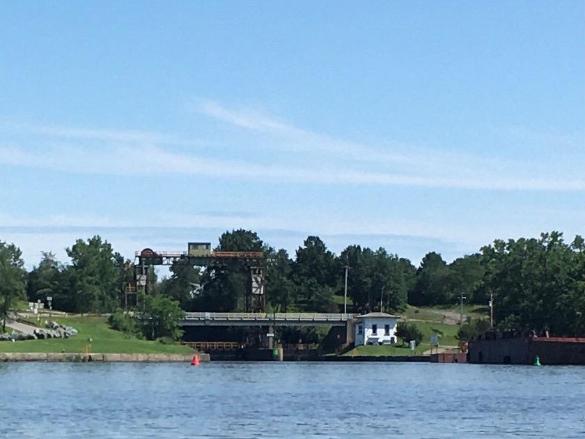 Mohawk River dam