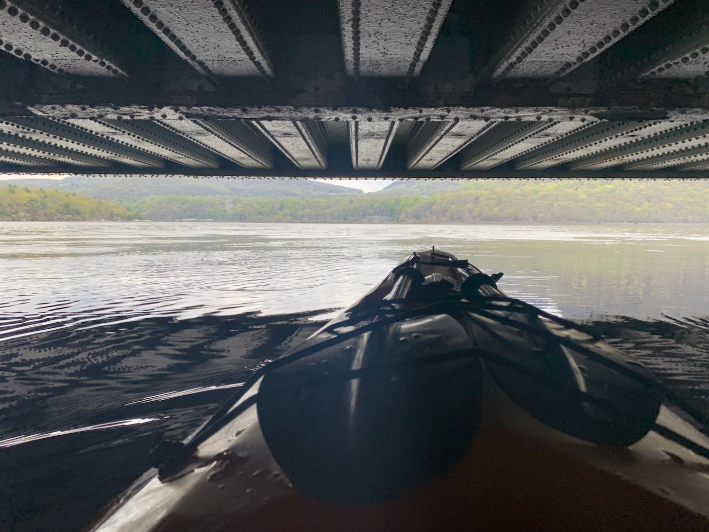 train bridge near Foundry Cove