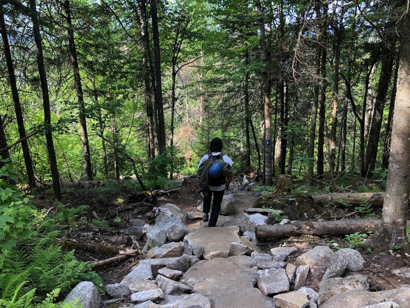 Trail improvements at Parc Harold F. Baldwin